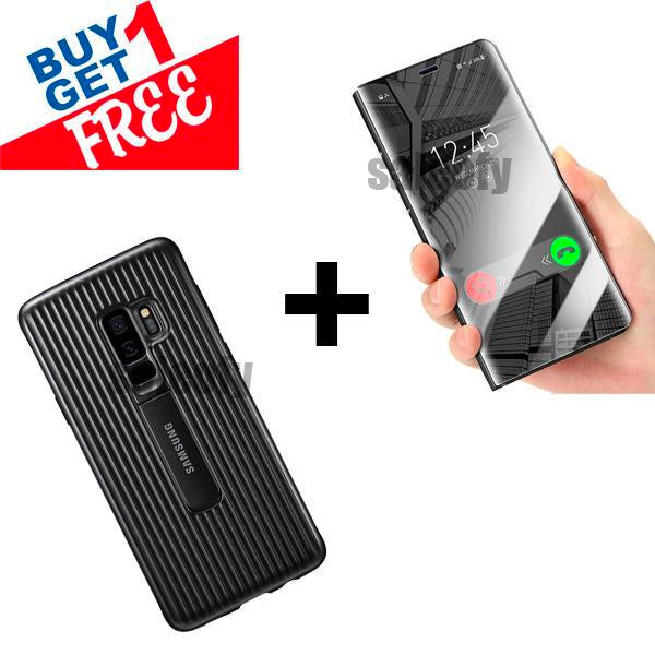 Buy 1 Get 1 FREE: Galaxy S7 Edge Mirror and Armour Case