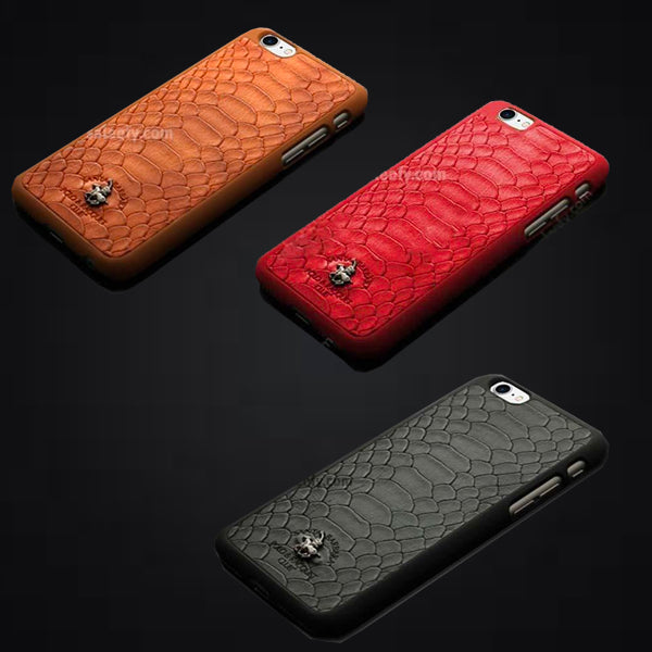 iPhone 8 Jockey Case Cover for Apple - Brown/ Black/ Red