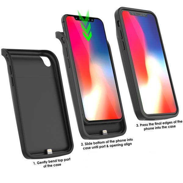 iPhone XS/X Battery Case Charger Case- 3200 mAh