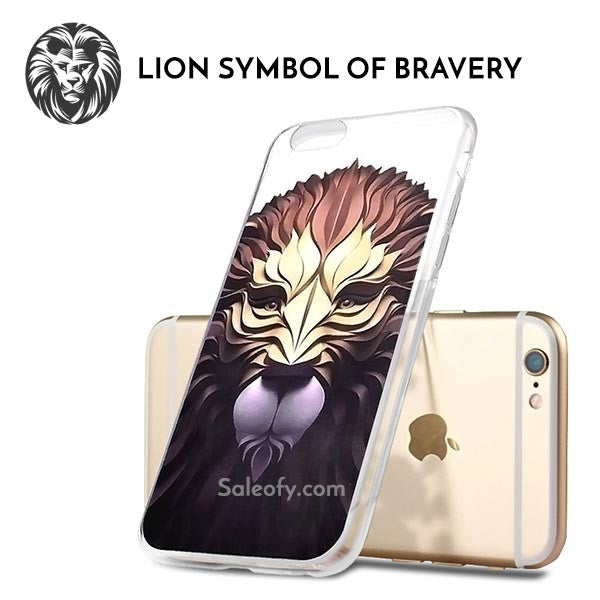 iPhone 6/6s Lion Design Back Case Cover