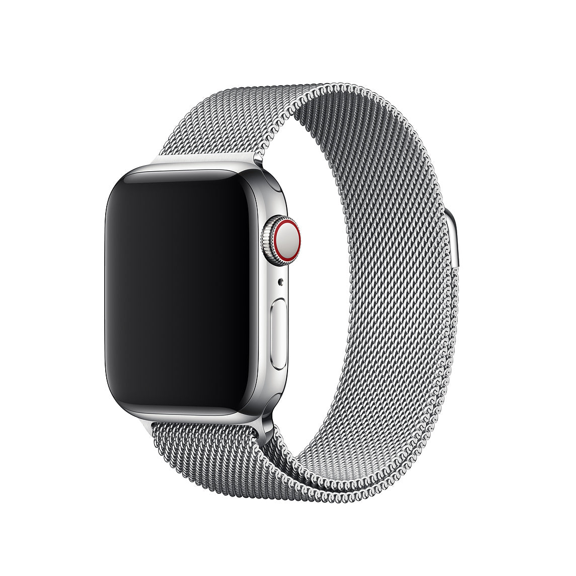 Stainless Steel Mesh Milanese Strap with Magnetic Closure For Apple Watch 1,2,3,4 & Cellular (44 /42 /40 /38 MM)