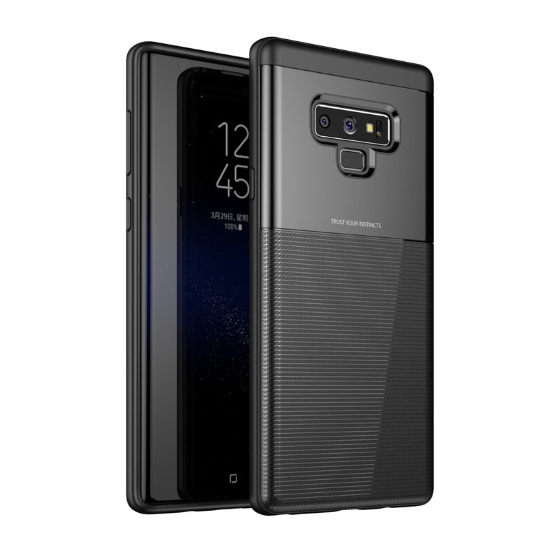 Galaxy Note9 Minimalist Slim Protective- Black Rugged