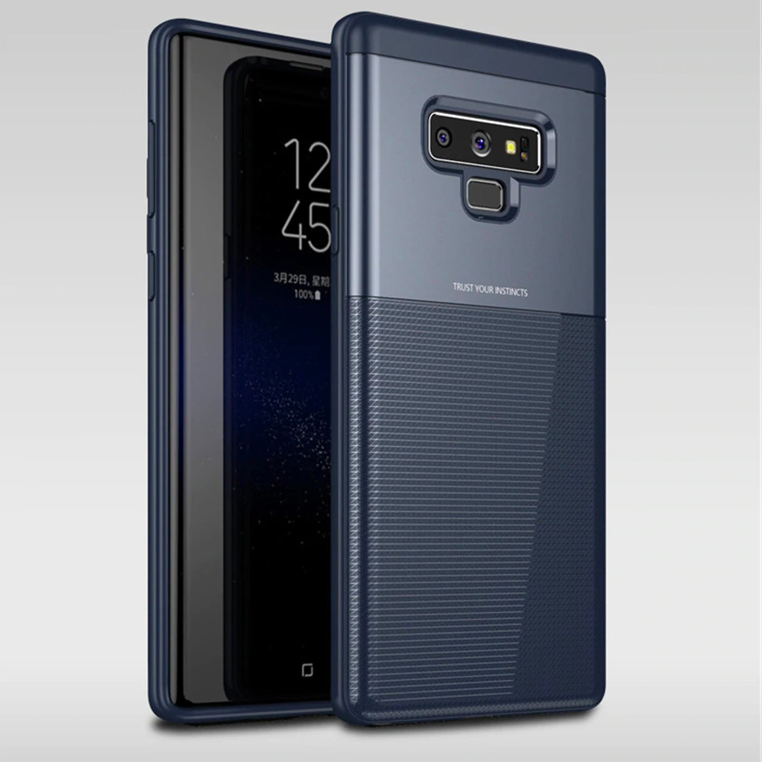 Galaxy Note9 Minimalist Slim Protective- Blue Rugged