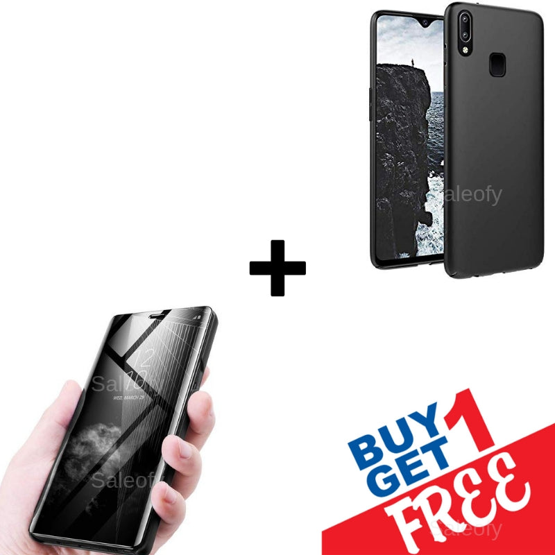 "<span class =""titlehead""> Buy 1 Get 1 FREE </span></br> Vivo Y93 / Y91 Mirror + Creative Case <span class=""titlehead1""></br>Get 2 Different Cases for price of 1 </span>"