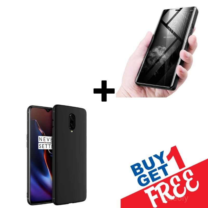 "<span class =""titlehead""> Buy 1 Get 1 FREE </span></br> OnePlus7 Pro Mirror Shine + Creative Case <span class=""titlehead1""></br>Get 2 Different Cases for price of 1 </span>"