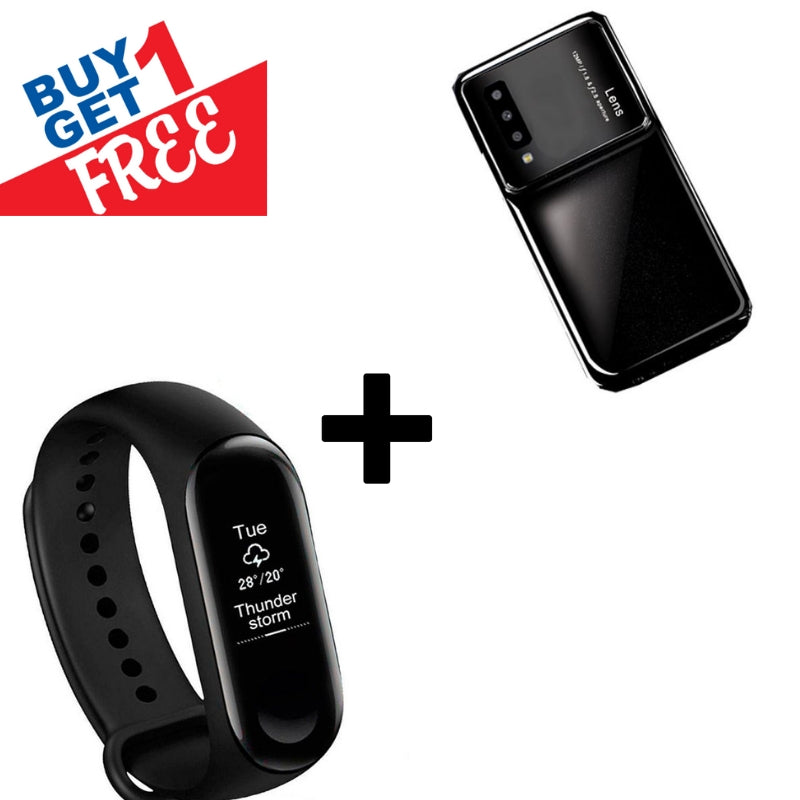 Buy 1 Get 1 FREE: Smart Band (With Heart Rate Monitor) Plus Creative Case For Galaxy A7