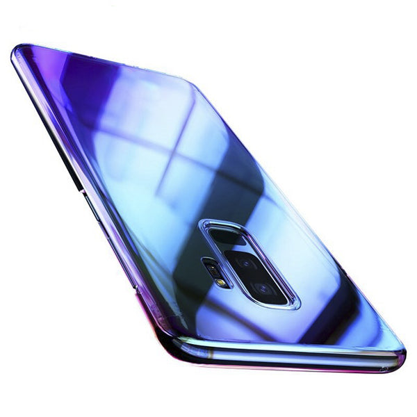 Sapphire Blue Color Changing Cover Case for Samsung Galaxy S9 Plus