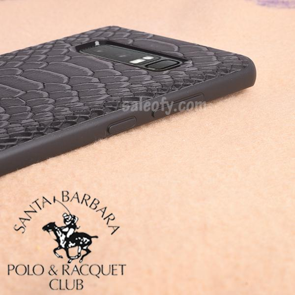 Black Crocodile Case for Samsung Note 8