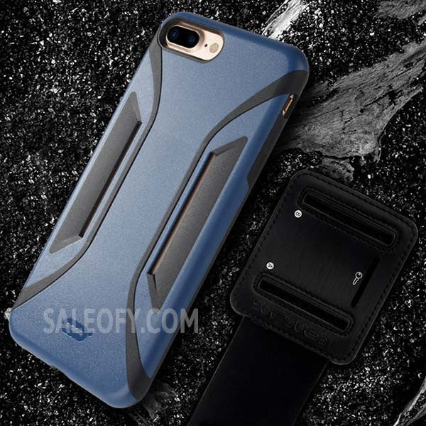 iPhone 7+ Plus Arm Band Running Cover Case for Apple