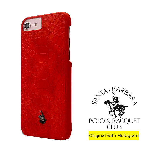 iPhone 8 Jockey PC Case Cover for Apple - Red/Black/Brown