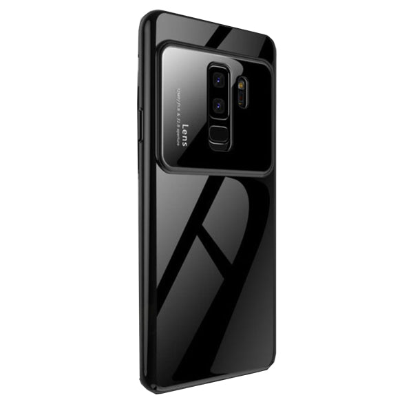 Luxury Tempered Glass Cover For Samsung Galaxy S9 Plus Matte-Black