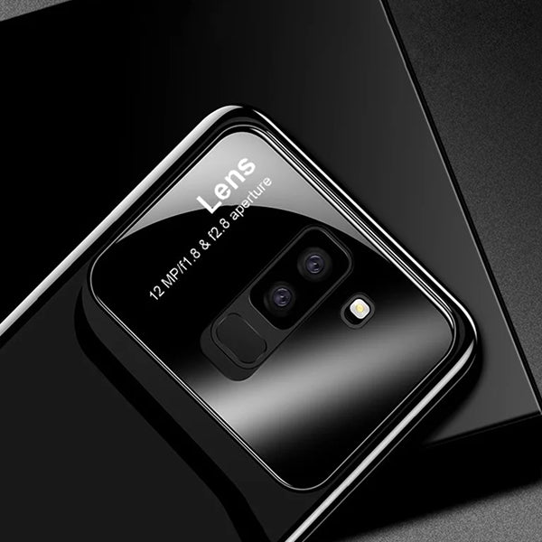 Luxury Tempered Glass Lens Cover For Samsung Galaxy S9 Plus