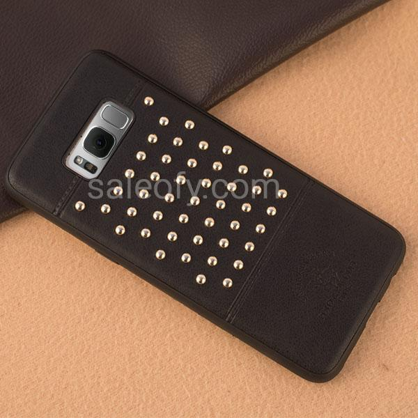 STACCATO-Black Cover Case for Samsung Galaxy S8