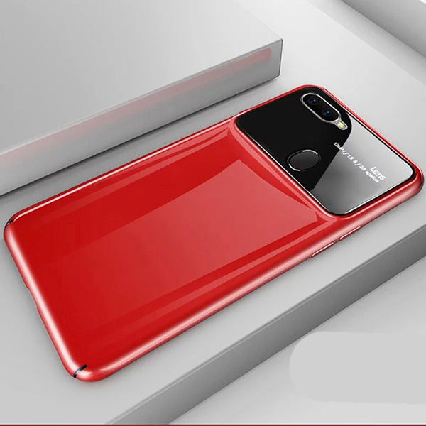 Luxury Tempered Glass Lens Cover For Oppo F9 Pro