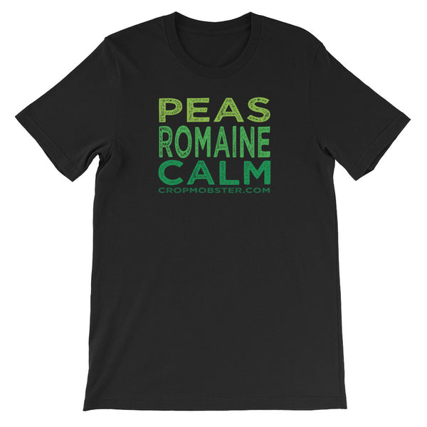 Peas Romaine Calm - Unisex short sleeve t-shirt