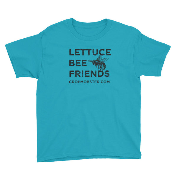Lettuce Bee Friends - Youth Short Sleeve T-Shirt