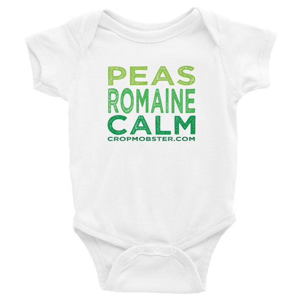 Peas Romaine Calm - Infant Bodysuit