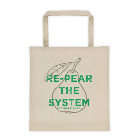 Re-Pear The System - Tote bag