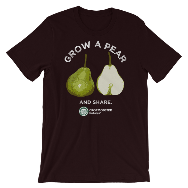 Grow a Pear - Dark - Short-Sleeve Unisex T-Shirt