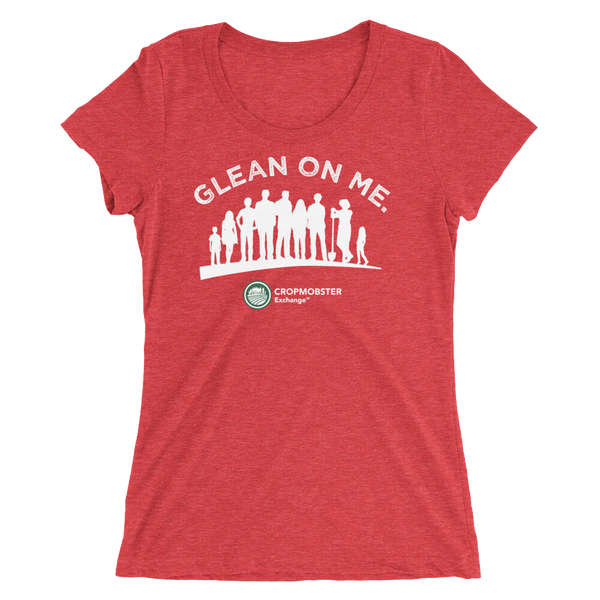 Glean On Me - Dark - Ladies' short sleeve t-shirt