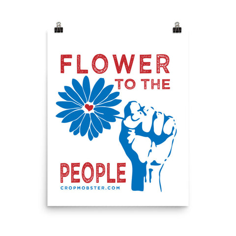 Flower to the People - Poster