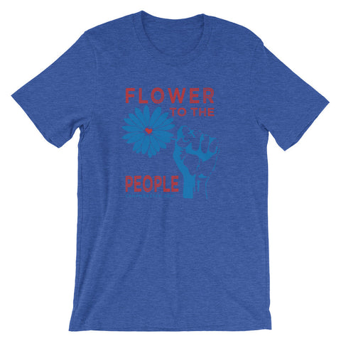Flower to the People - Unisex short sleeve t-shirt