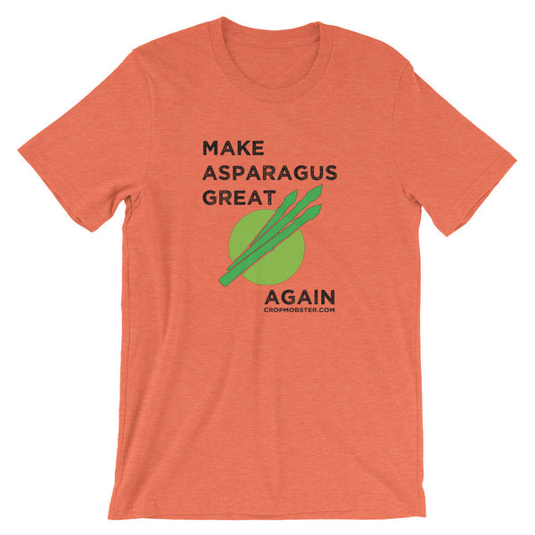 Make Aparagus Great Again - Unisex short sleeve t-shirt