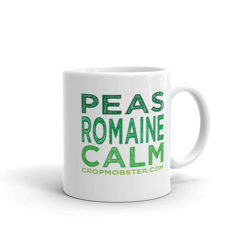 Peas Romaine Calm  - Mug