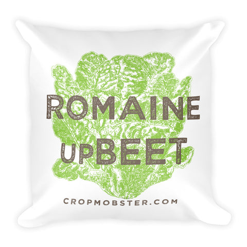 Romaine upBeet - Square Pillow