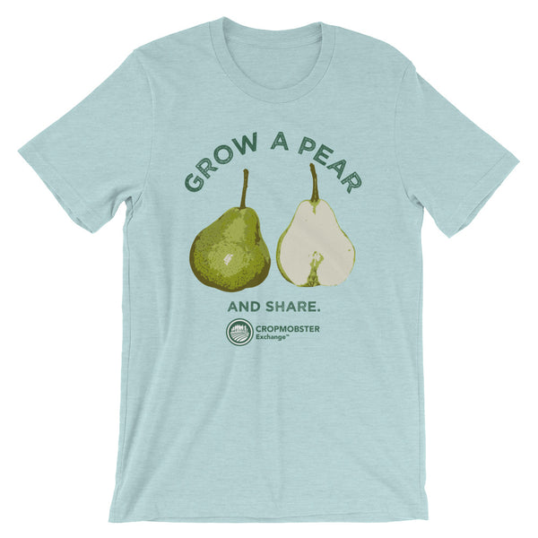 Grow a Pear - Light - Short-Sleeve Unisex T-Shirt