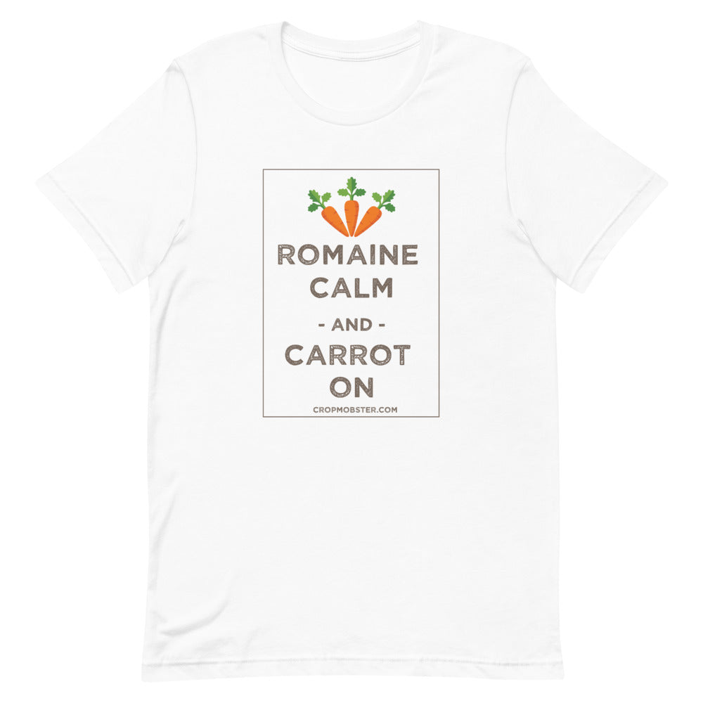 Romaine Calm and Carrot On - Short-Sleeve Unisex T-Shirt