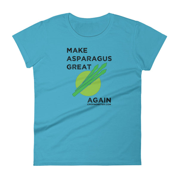 Make Asparagus Great Again - Women's short sleeve t-shirt