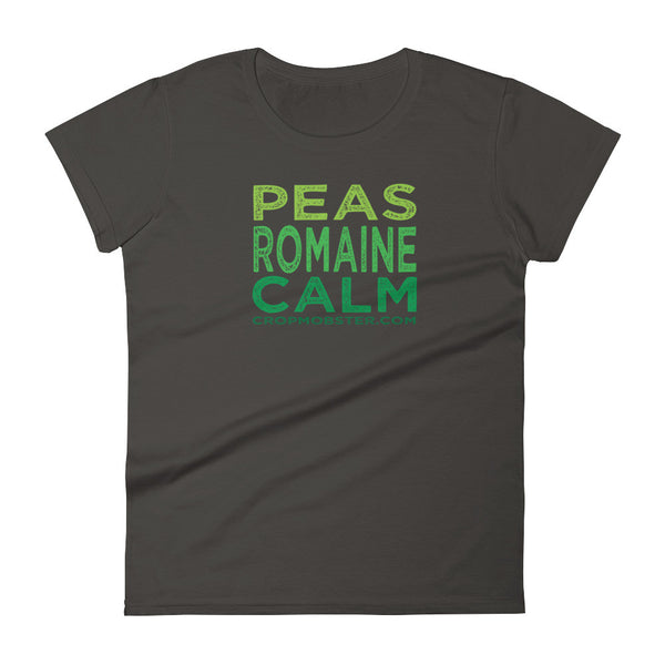 Peas Romaine Calm - Women's short sleeve t-shirt
