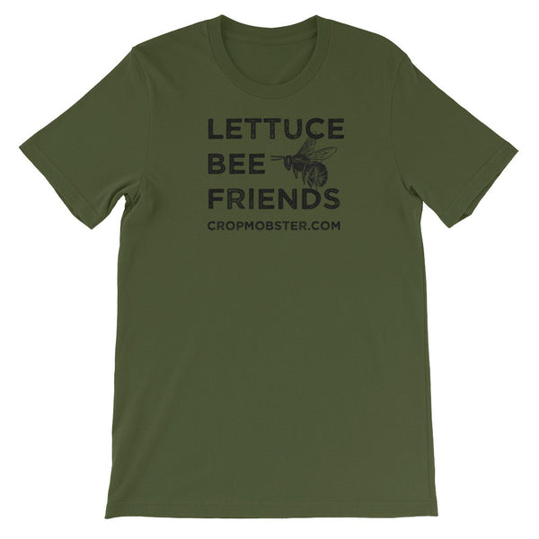 Lettuce Bee Friends - Unisex short sleeve t-shirt