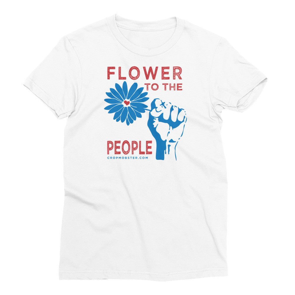 Flower to the People - Women's Short Sleeve T-Shirt