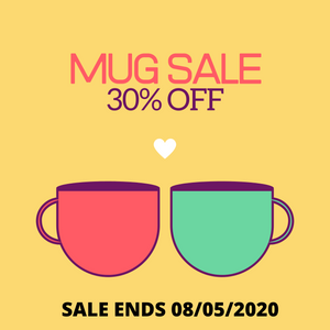 30% OFF ALL MUGS...STOCK UP, Y'ALL!