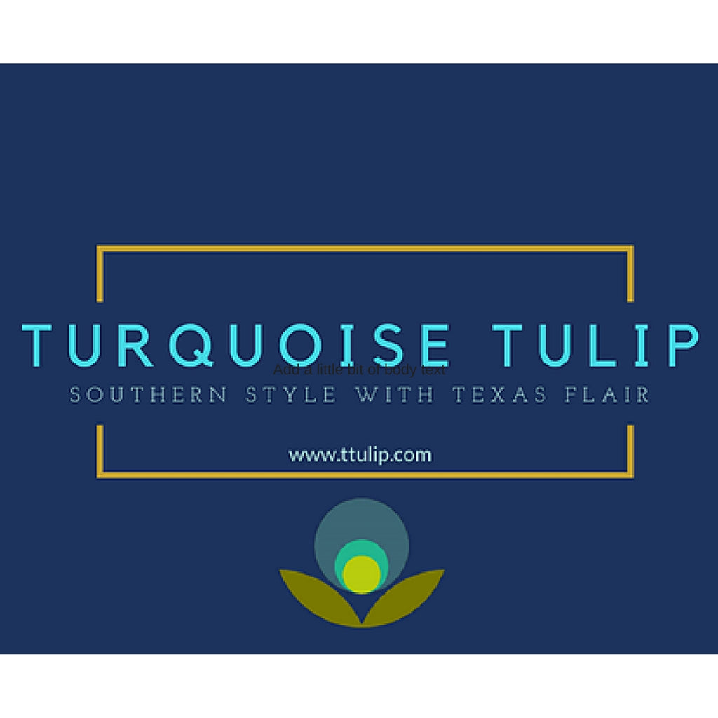 Apparel, Home Decor and More by Georgetown-based Turquoise Tulip