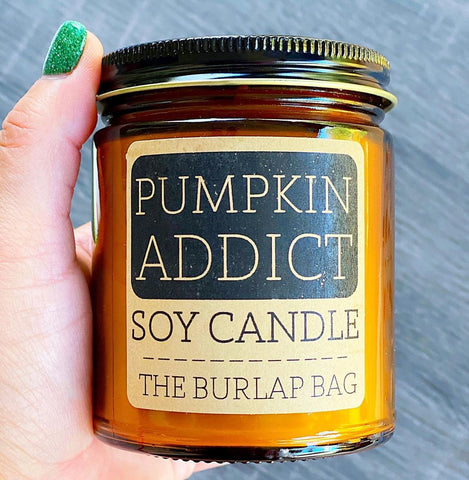 Shop this awesome, all-natural soy candle by Austin-based, The Burlap Bag!