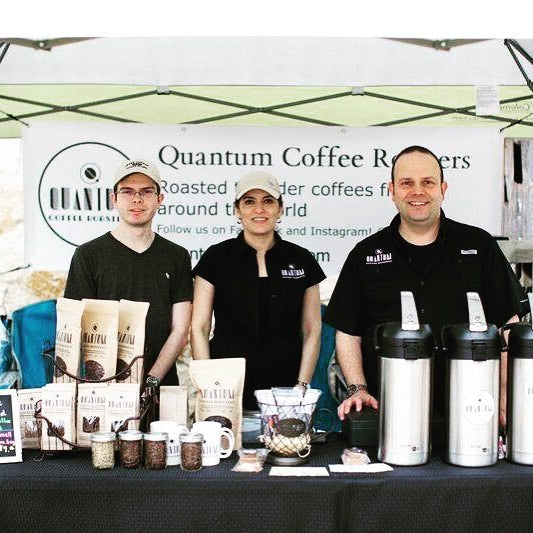 Quantum Coffee Roasters located in San Antonio, Texas