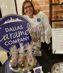 A native Texan, Rain grew up in Houston and moved to Plano at the age of 7. When she turned 9, her father took her on a date to the Reunion Tower which inspired her creativity and propelled her desire to leave her own mark on the city. Ever since that day, she has been captivated by Dallas, its people, its culture, and its iconic skyline. Now, Rain hopes that her caramel will become a new signature part of Dallas and will transport everyone who takes a bite to the city she loves and calls home.  Her caramels have been described as bold, unapologetically delicious, and with flavor as big as Texas. Rain cooks all of her Caramels and TxTurtles in a her manufacturing facility in Wylie. Discover the treat everyone is talking about and place your order from the Dallas Caramel Company now!