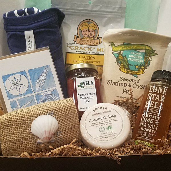 Texas Gulf Coast Getaway Summer Box