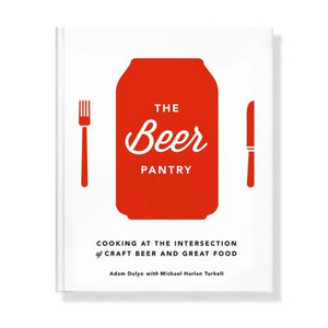 "Where most beer-driven cookbooks focus on cooking with beer, The Beer Pantry by Adam Dulye and Michael Harlan Turkell is a primer on cooking that complements beer, teaching readers how to think like a chef when pairing their favorite craft brews with culinary ingredients. The book includes more than 70 recipes that will elevate our perception of ""pub grub"" to haute beer cuisine."