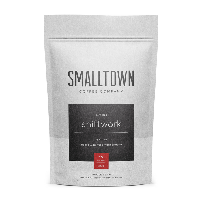 SHIFTWORK ESPRESSO BY SMALLTOWN COFFEE COMPANY