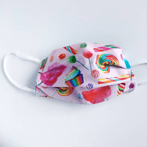 Reversible & Reusable Candy Face Mask by The Avera Boutique