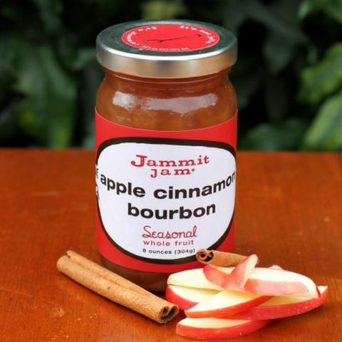 Jammit! Jam Apple Cinnamon Bourbon, 8 oz. jar