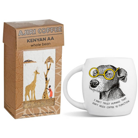 Coffee with Suspicious Mutt | HOLIDAY PRE-ORDER