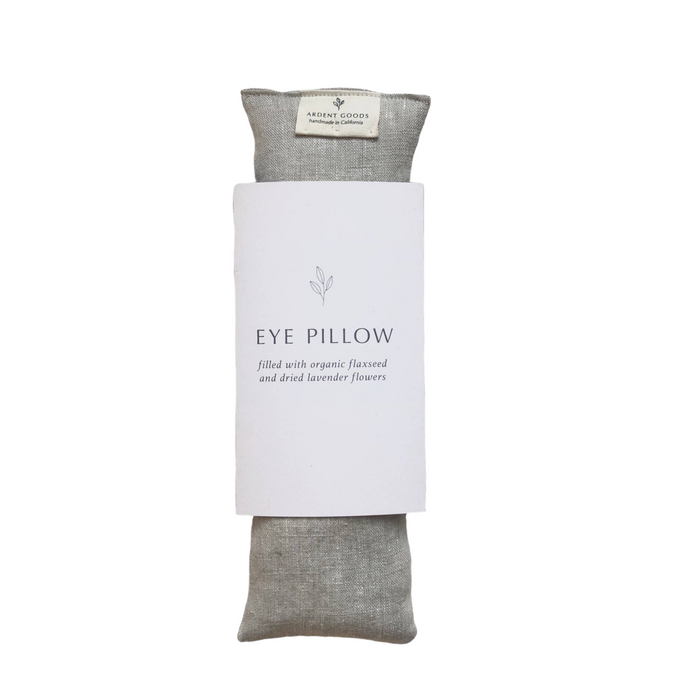 Ardent Goods Handmade Linen Eye Pillow