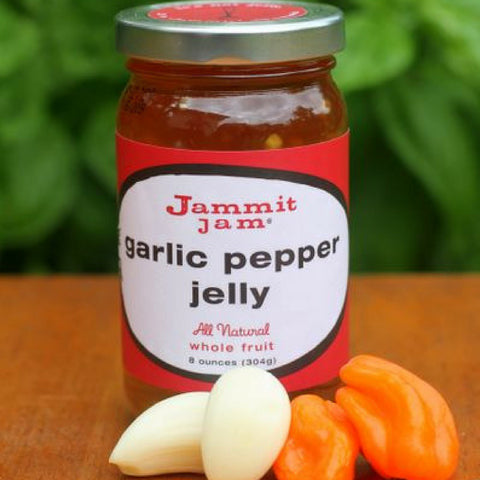 Jammit! Jam Garlic Pepper Jelly, 8 oz. jar