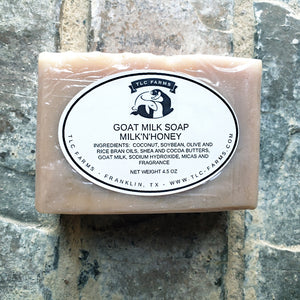 TLC Farms Milk and Honey Goat Milk Soap - Cool Beans Box