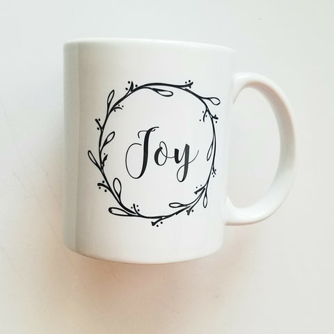 Mugg'N Co Joy Coffee Mug